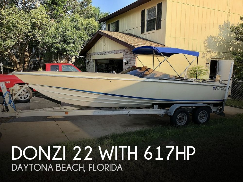 1986 DONZI 22 WITH 617HP for sale