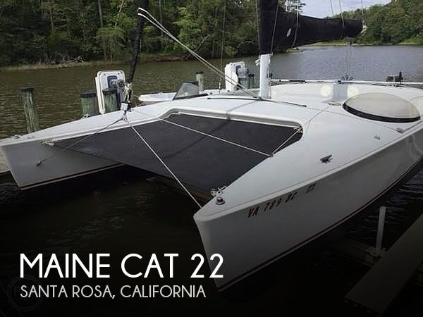 Used Sailboats For Sale by owner | 1995 Maine Cat 22