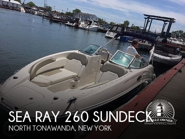 Used Deck Boats For Sale in New York by owner | 2007 Sea Ray 260 Sundeck