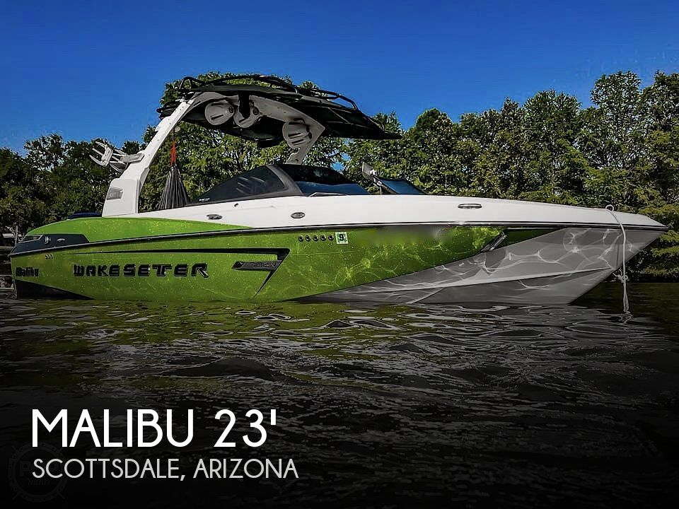 Used Boats For Sale in Arizona by owner | 2015 23 foot Malibu Wakesetter
