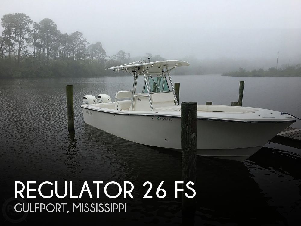 Used Boats For Sale in Gulfport, Mississippi by owner | 2003 Regulator Marine 26 FS
