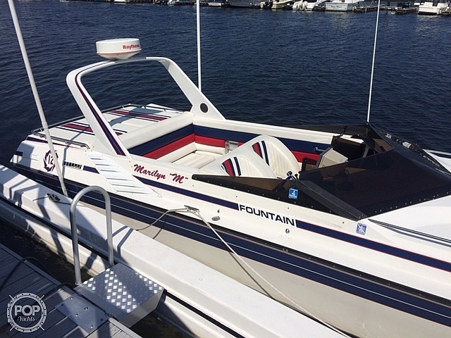 1988 Fountain boat for sale, model of the boat is 12 M & Image # 7 of 40
