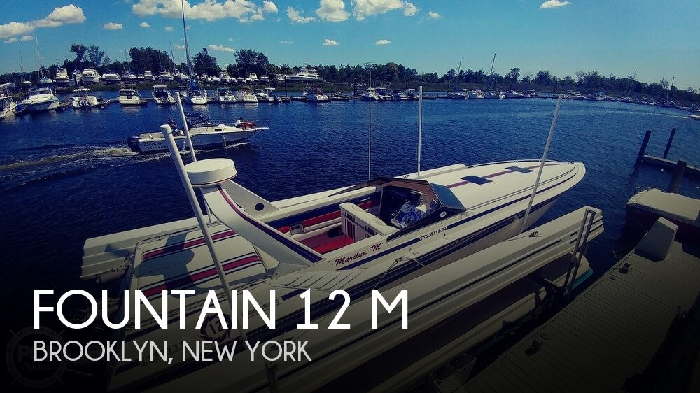 1988 Fountain boat for sale, model of the boat is 12 M & Image # 1 of 40
