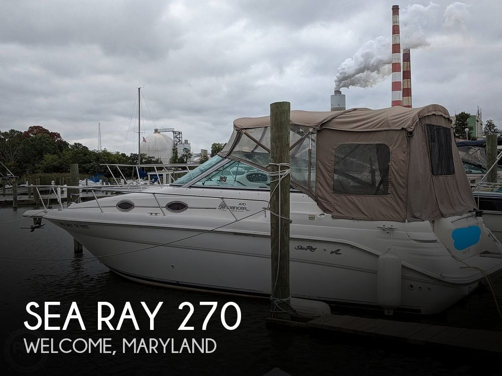 1998 Sea Ray boat for sale, model of the boat is 270 Sundancer & Image # 1 of 40
