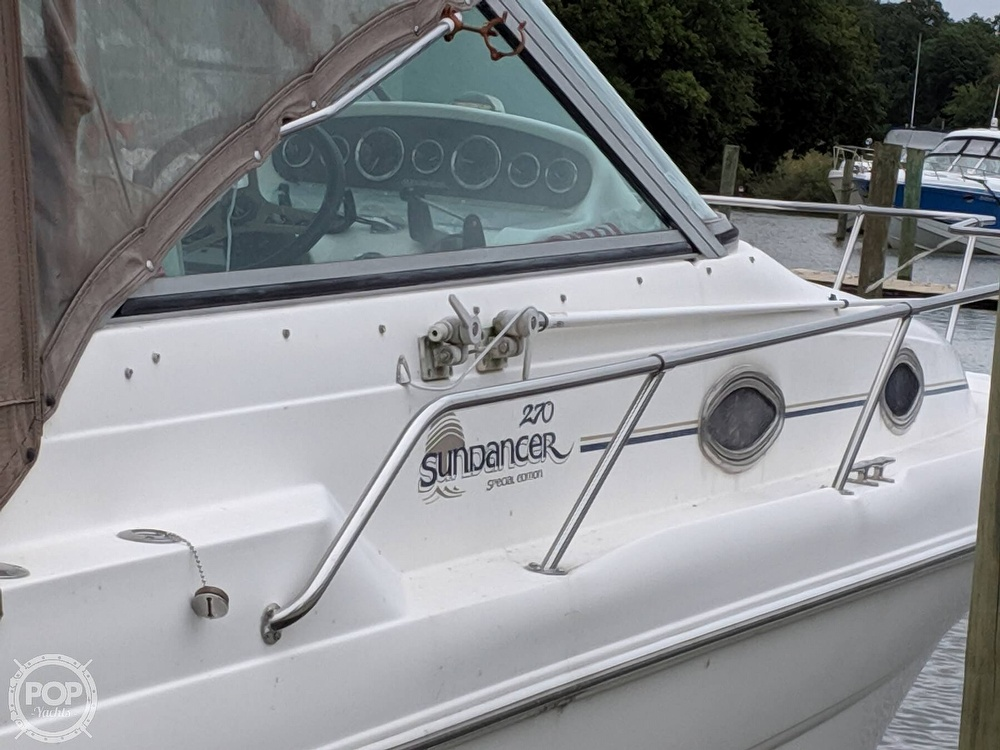 1998 Sea Ray boat for sale, model of the boat is 270 Sundancer & Image # 21 of 40