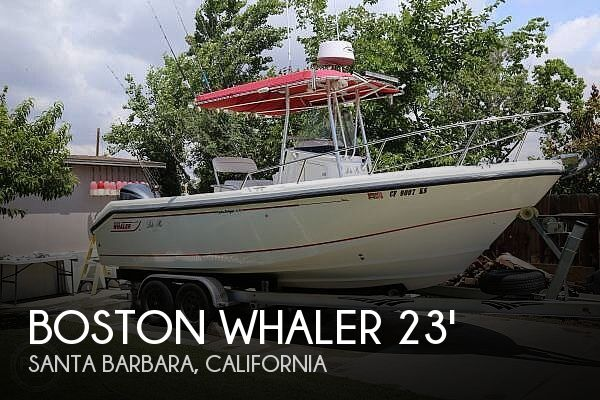 Used Boats For Sale in Santa Maria, California by owner | 2002 Boston Whaler 230