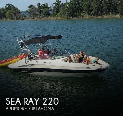 Used Sea Ray Sun Deck 220 Boats For Sale by owner | 2002 Sea Ray Sun Deck 220