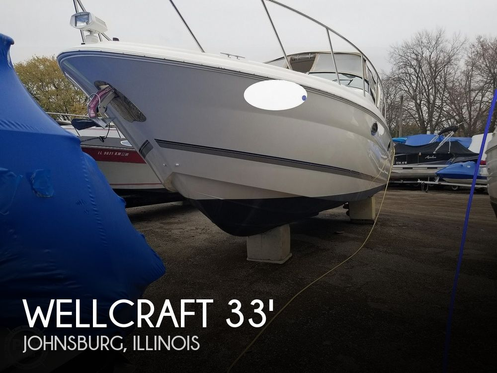 Used Boats For Sale in Madison, Wisconsin by owner | 2001 Wellcraft 3300 Martinique