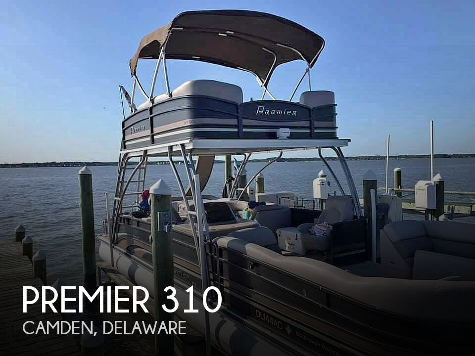 Used Boats For Sale in Delaware by owner | 2012 Premier Pontoons Skydeck Boundary Water 31