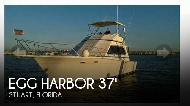 Used Egg Harbor Boats For Sale by owner | 1987 Egg Harbor 37 Convertible