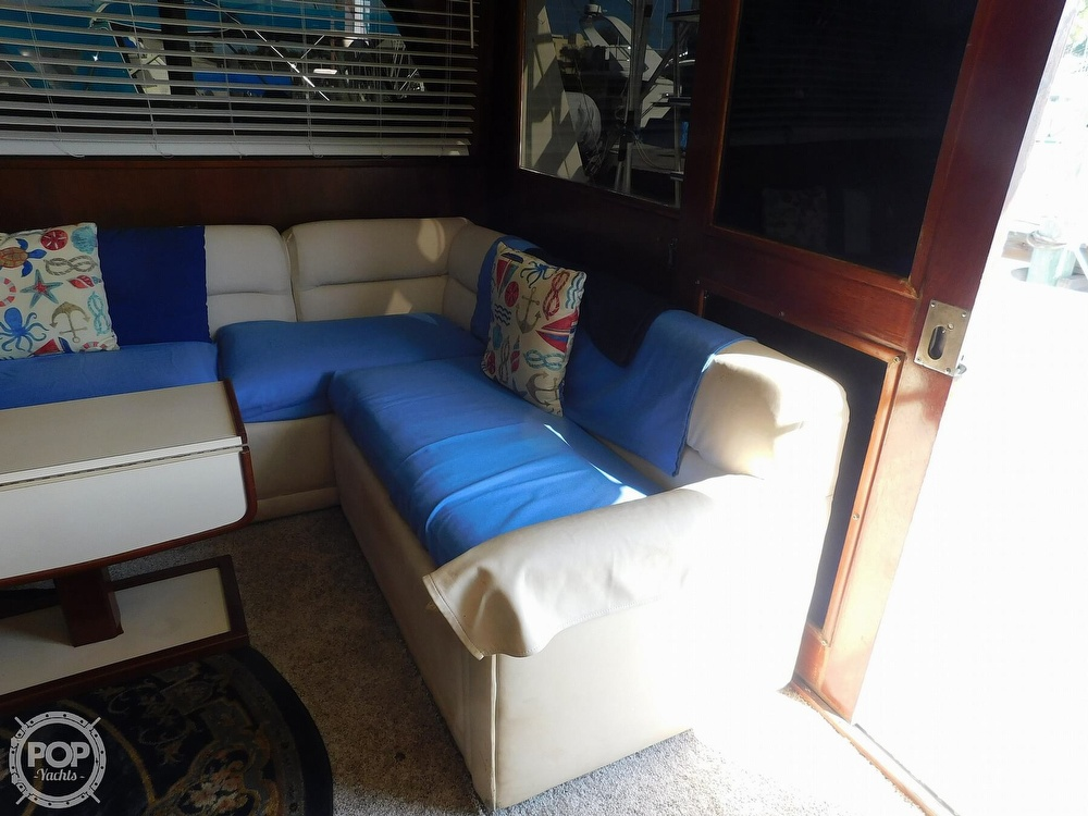1987 Egg Harbor boat for sale, model of the boat is 37 Convertible & Image # 28 of 40
