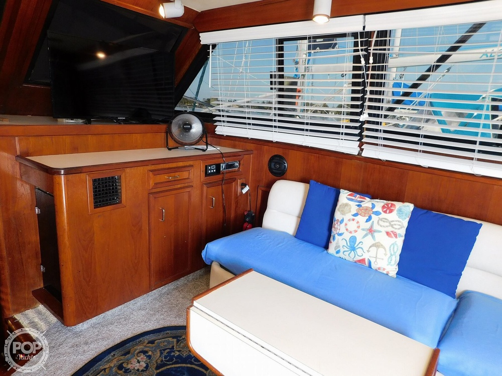 1987 Egg Harbor boat for sale, model of the boat is 37 Convertible & Image # 12 of 40