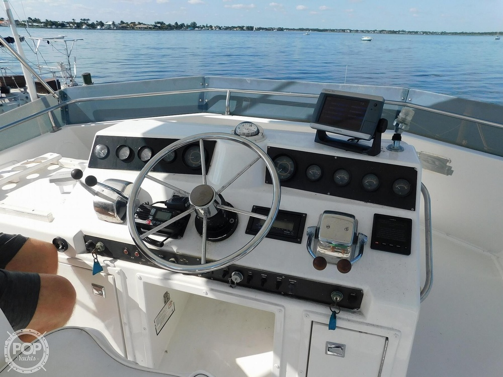 1987 Egg Harbor boat for sale, model of the boat is 37 Convertible & Image # 6 of 40