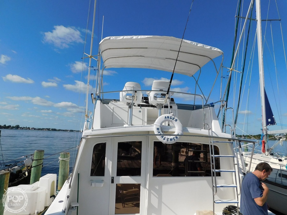 1987 Egg Harbor boat for sale, model of the boat is 37 Convertible & Image # 11 of 40