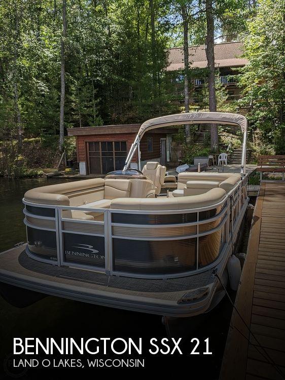 Used Bennington Pontoon Boats For Sale by owner | 2016 Bennington SSX 21