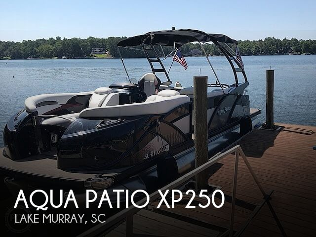 Used Boats For Sale in Augusta, Georgia by owner | 2017 Aqua Patio XP250