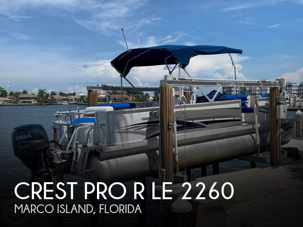 Used Crest Pontoon Boats For Sale by owner | 2007 Crest Pro R LE 2260