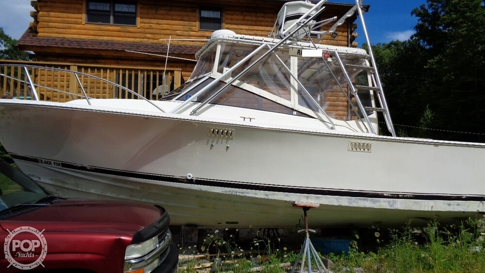 1987 Blackfin boat for sale, model of the boat is 27 & Image # 2 of 40