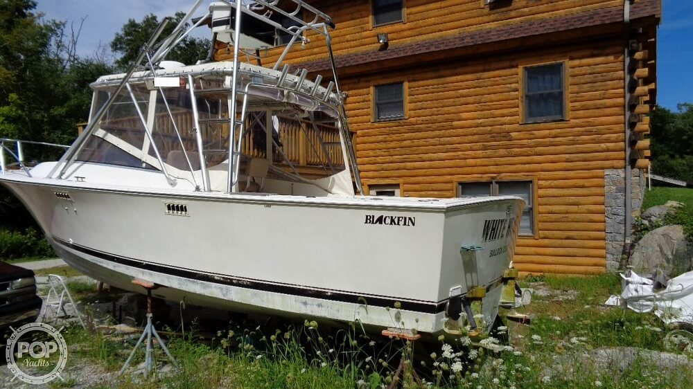 1987 Blackfin boat for sale, model of the boat is 27 & Image # 25 of 40