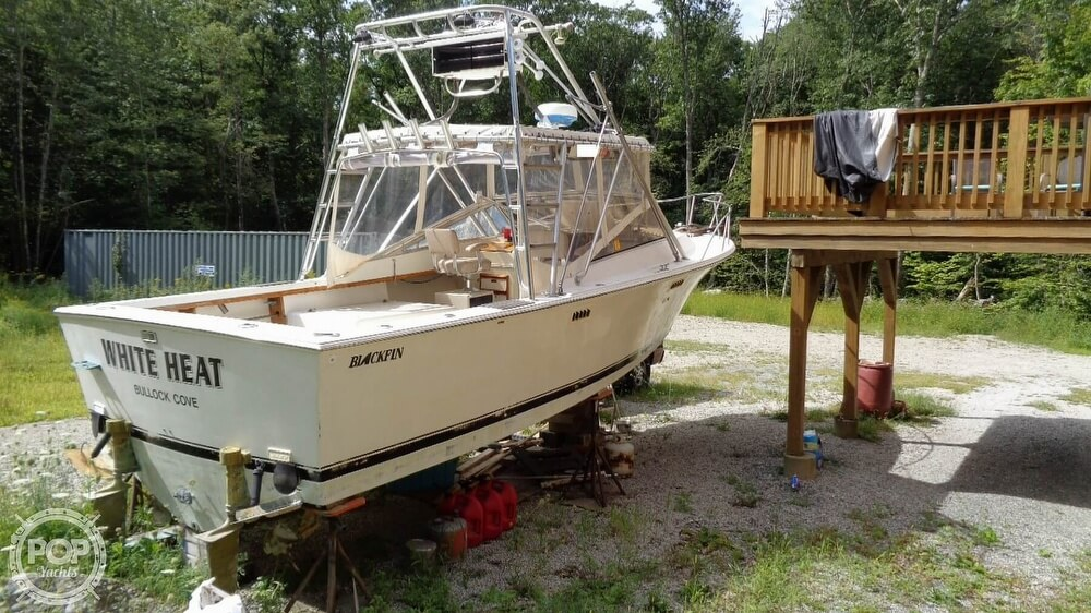 1987 Blackfin boat for sale, model of the boat is 27 & Image # 29 of 40