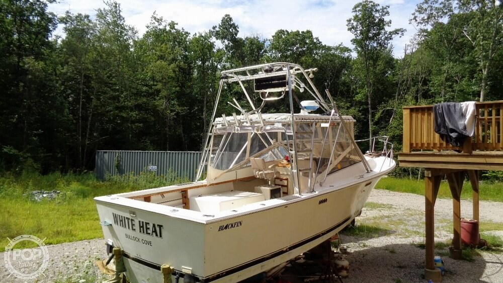 1987 Blackfin boat for sale, model of the boat is 27 & Image # 31 of 40