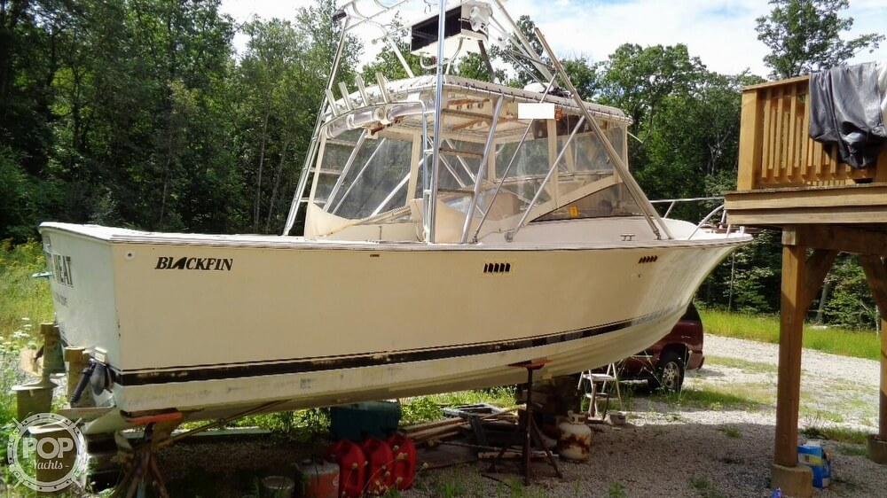 1987 Blackfin boat for sale, model of the boat is 27 & Image # 32 of 40