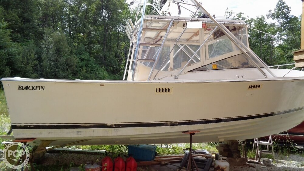 1987 Blackfin boat for sale, model of the boat is 27 & Image # 34 of 40