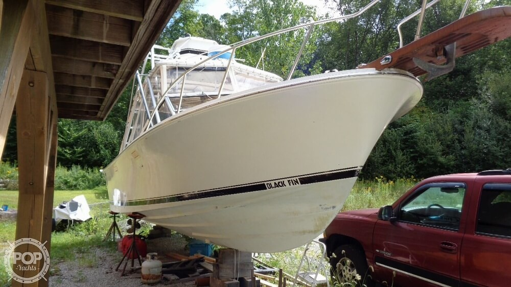 1987 Blackfin boat for sale, model of the boat is 27 & Image # 36 of 40