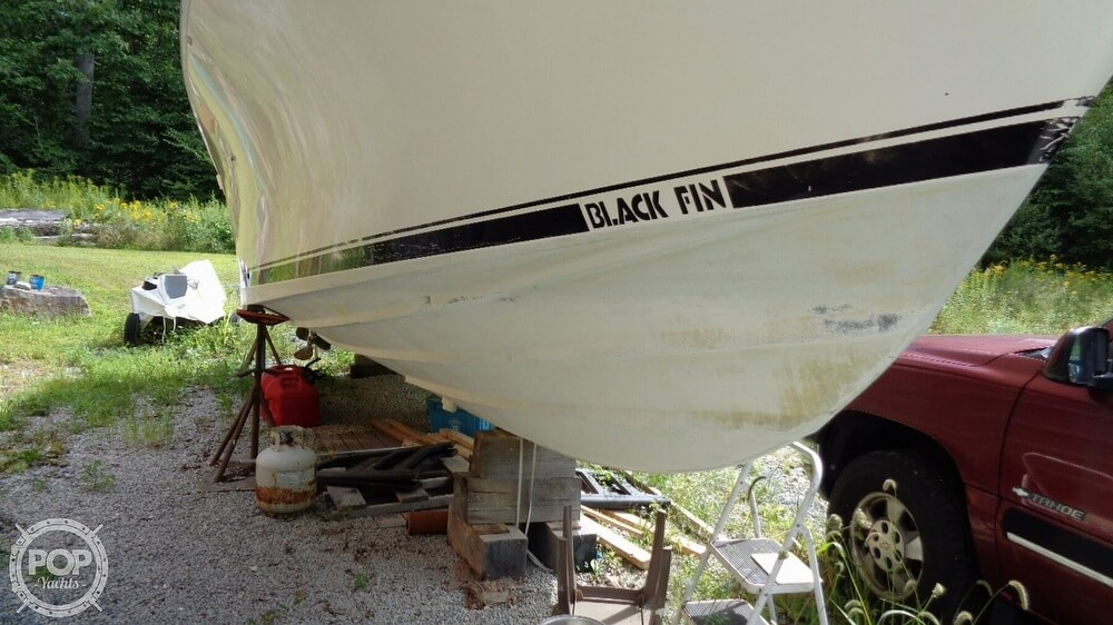 1987 Blackfin boat for sale, model of the boat is 27 & Image # 38 of 40