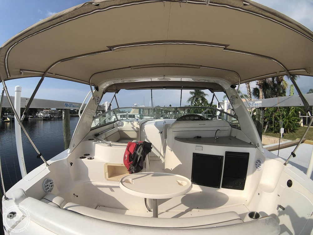 2006 Rinker boat for sale, model of the boat is 342 Cruiser & Image # 29 of 40