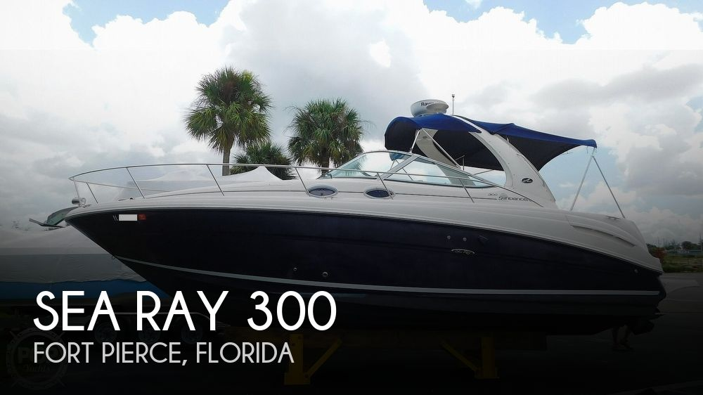 2005 Sea Ray boat for sale, model of the boat is 300 Sundancer & Image # 1 of 40