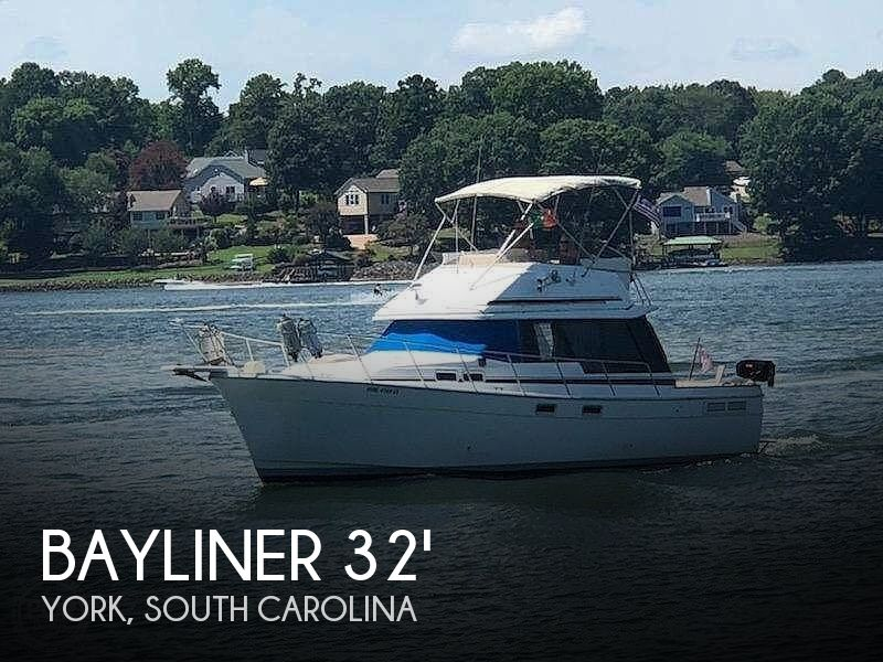 Used Bayliner Boats For Sale in Spartanburg, South Carolina by owner | 1987 Bayliner 3288