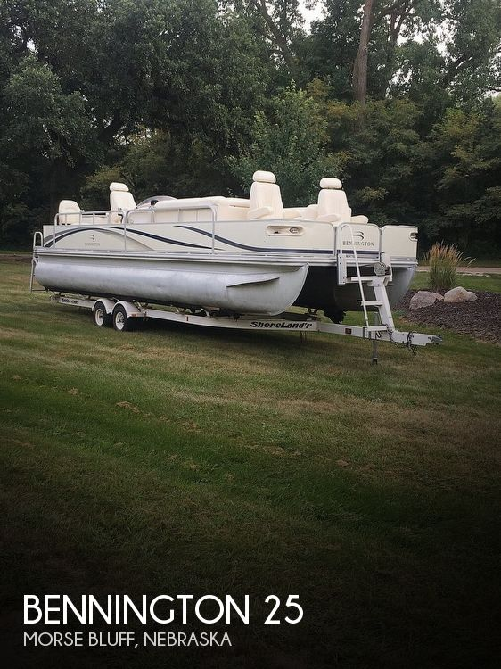 Used Boats For Sale in Omaha, Nebraska by owner | 2005 Bennington 25