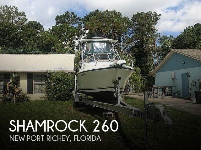 Used Shamrock Boats For Sale by owner | 1999 Shamrock 260 Express