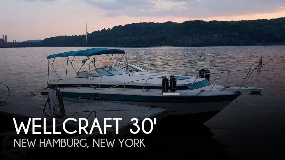 1989 Wellcraft boat for sale, model of the boat is Monaco 3000 & Image # 1 of 40