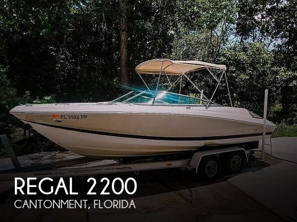 Used Regal 2200 Boats For Sale by owner | 2006 Regal 2200