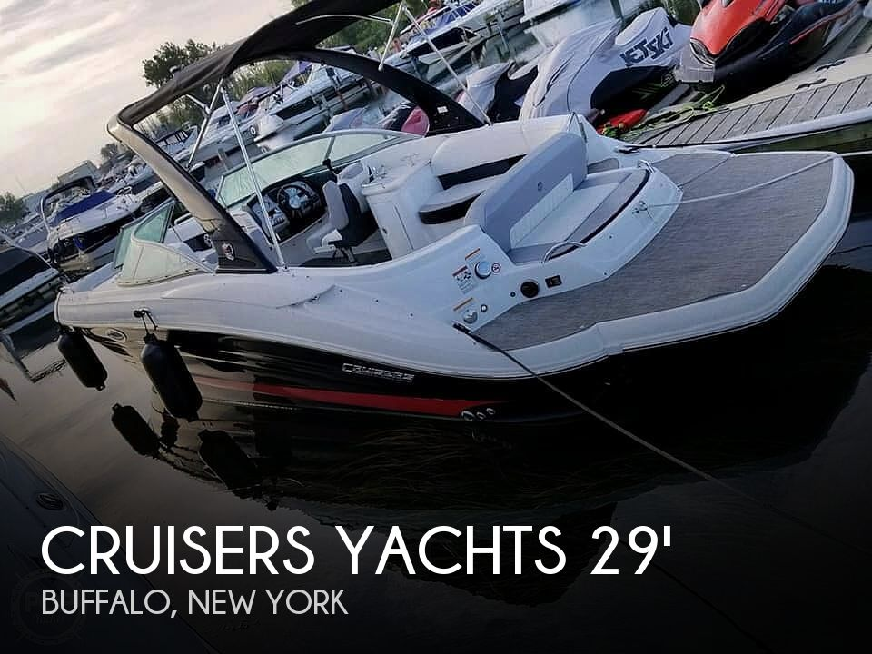 Used Power boats For Sale in Buffalo, New York by owner | 2016 Cruisers Yachts 298 SS