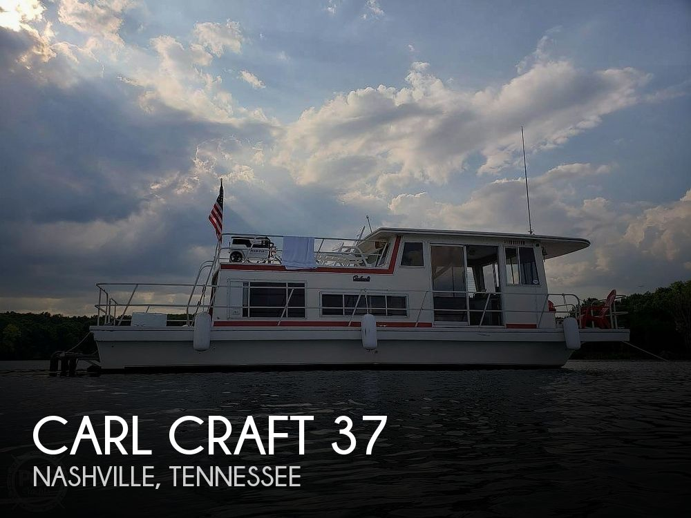 Used Carl Craft Houseboats For Sale in Tennessee by owner | 1978 Carl Craft 37