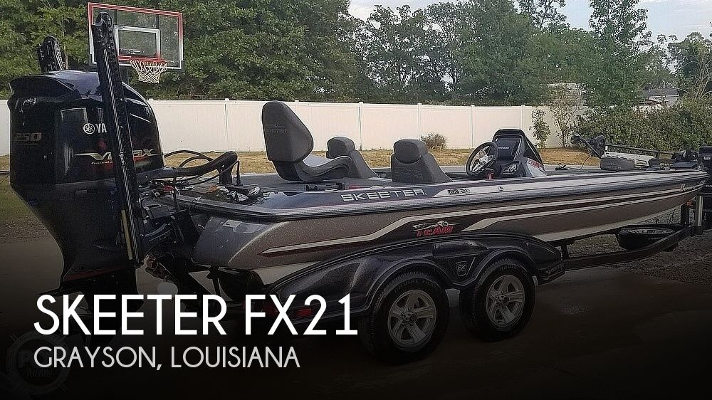 Used Boats For Sale in Monroe, Louisiana by owner | 2015 Skeeter FX21