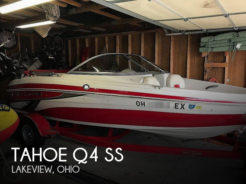 Used Tahoe Boats For Sale in Ohio by owner | 2011 Tahoe Q4 SS