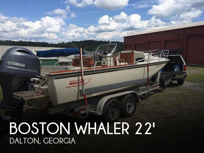 Used Boston Whaler 22 Boats For Sale by owner | 1984 Boston Whaler 22'
