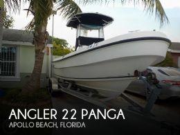 2009 Angler 22 Panga