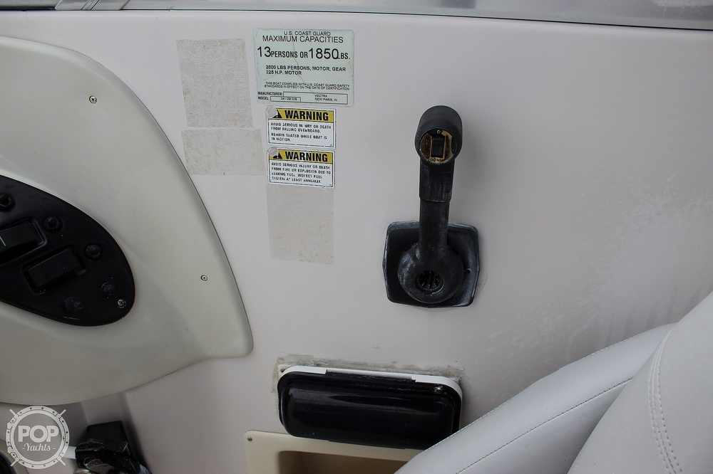 2004 Smoker Craft boat for sale, model of the boat is Vectra 241 DB & Image # 19 of 40