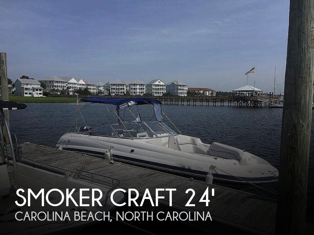2004 Smoker Craft boat for sale, model of the boat is Vectra 241 DB & Image # 1 of 40