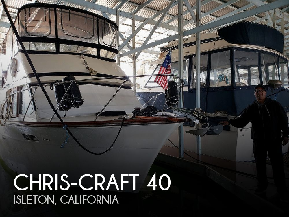 Used Chris-Craft Boats For Sale in California by owner | 1973 Chris-Craft 40