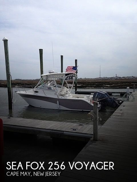 Used Sea Fox Boats For Sale by owner | 2011 25 foot Sea Fox Voyager