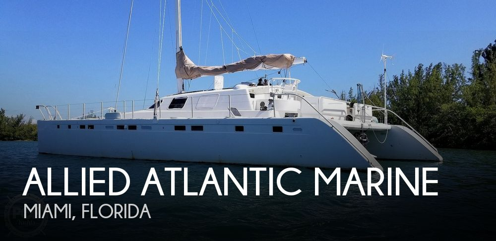 Used Sailboats For Sale in Florida by owner | 1996 Allied Atlantic Marine 70 Typhoon