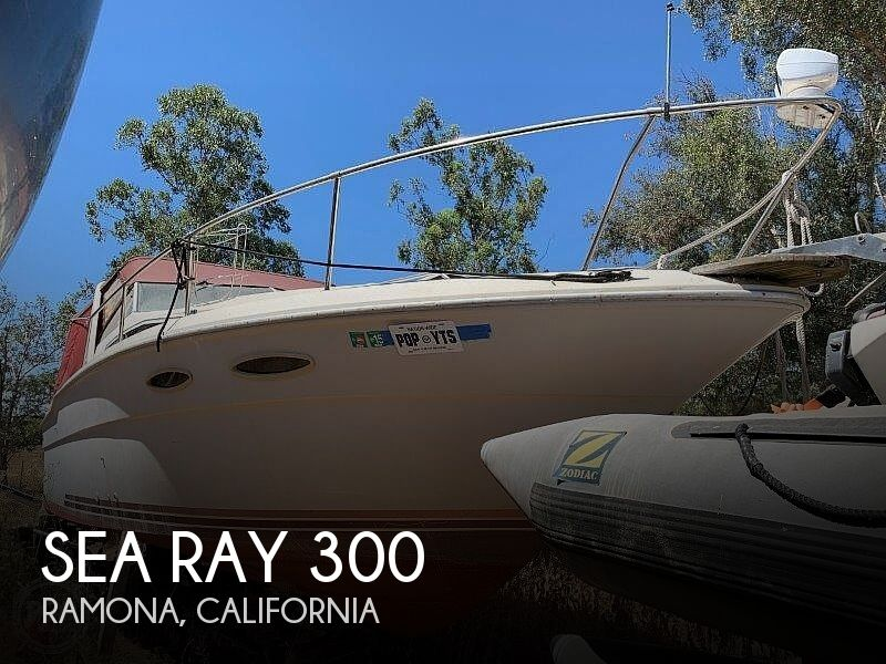1988 Sea Ray boat for sale, model of the boat is 300 Weekender & Image # 1 of 40