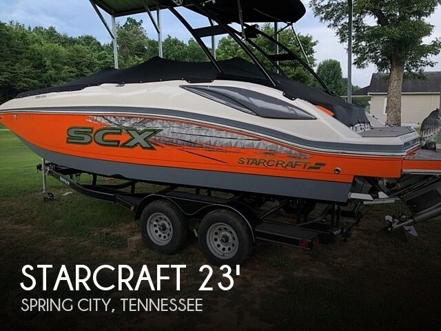 Used Boats For Sale in Knoxville, Tennessee by owner | 2018 Starcraft 231 SCX Surf Edition