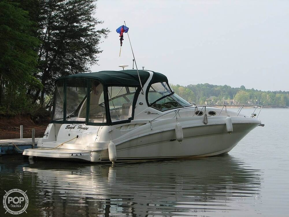 2003 Sea Ray boat for sale, model of the boat is 320 Sundancer & Image # 2 of 32